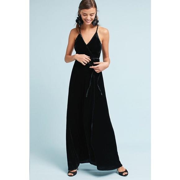 3c0dd488d000a Anthropologie Dresses | Nwt Yumi Kim Velvet Maxi Dress | Poshmark